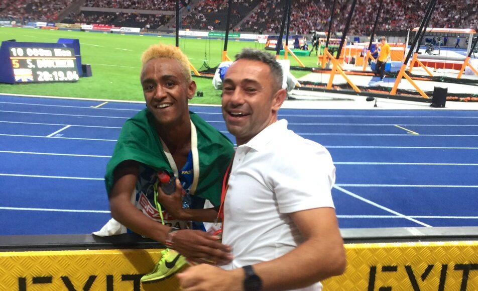 Due chiacchiere con Yeman Crippa e Massimo Pegoretti