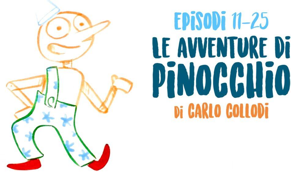 Retroscena – Illustraudio / Le avventure di Pinocchio Cap 11-25