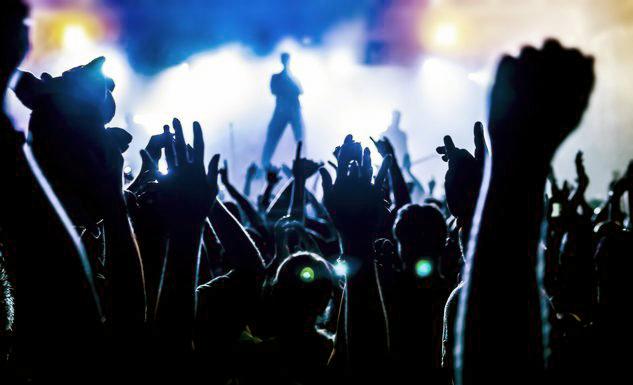 Summer rock in Arena